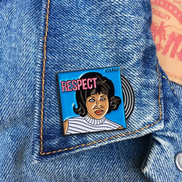 Aretha Pin By The Found