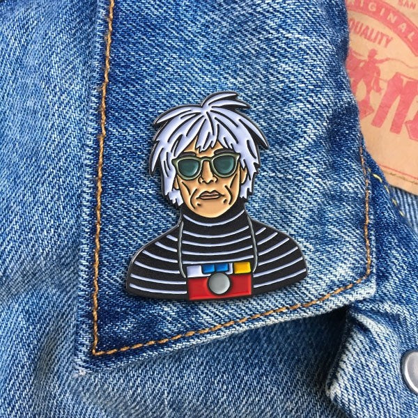 Warhol Pin By The Found