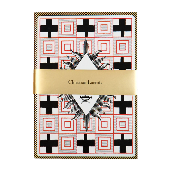 Christian Lacroix POKER FACE A5 LAYFLAT NOTEBOOK