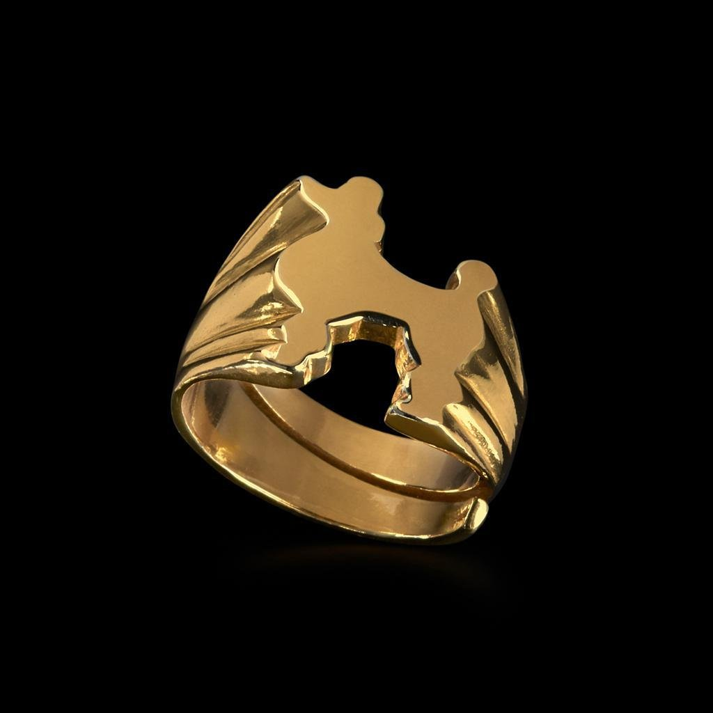Poodle Signet Ring by Jonathan Johnson