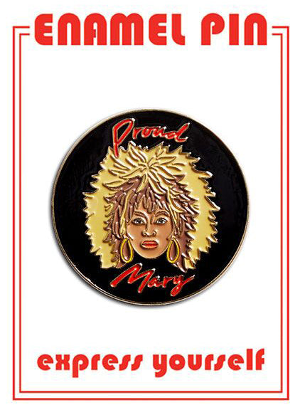 Tina Turner Pin By The Found