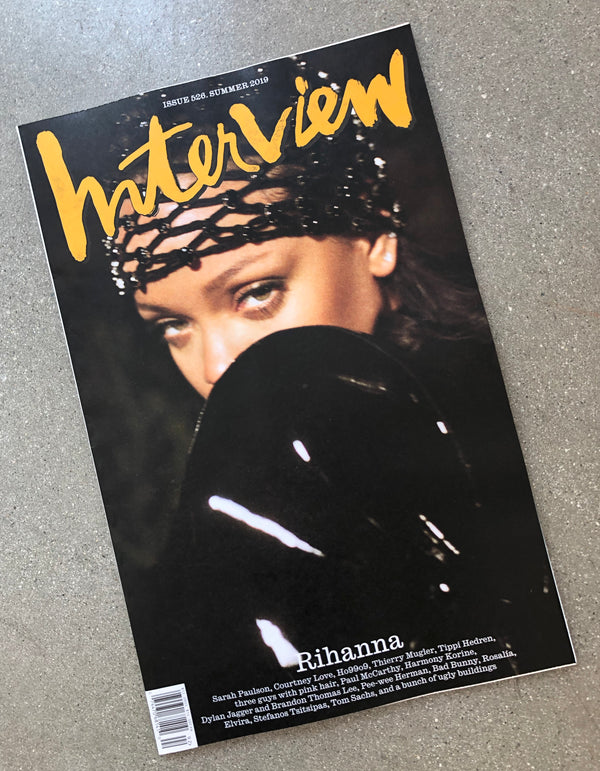 "INTERVIEW #526:  ""RIHANNA,"" SUMMER 2019 - COVER #2"