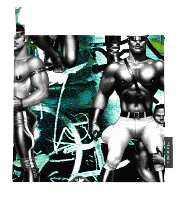 Tom of Finland Street Style Pot Holders by Finlayson