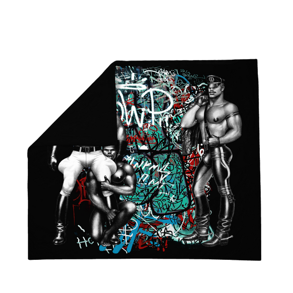Tom of Finland Street Style Sateen Double Duvet Cover by Finlayson