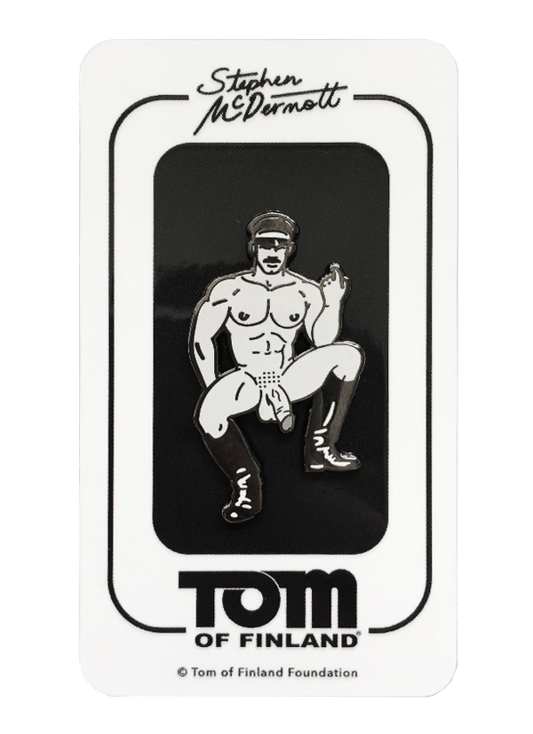Tom of Finland Pin by Stephen McDermott