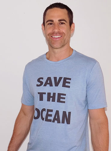 SAVE THE OCEAN - BLUE