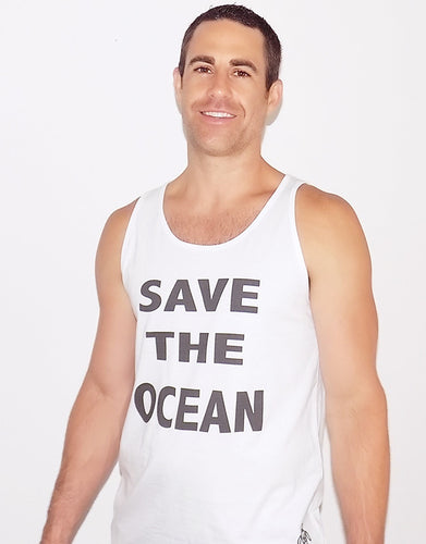 SAVE THE OCEAN tank