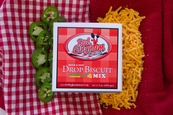 Jalapeno Cheddar Drop Biscuit