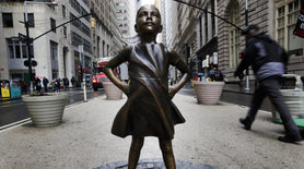 New York's 'Charging Bull' Statue Has Met Its Match: A Fearless Girl