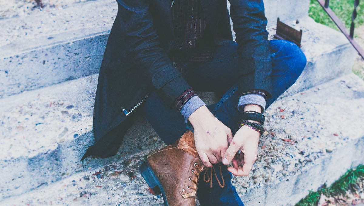 How to Wear Men's Leather Bracelets