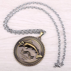 Game of Thrones House Tully Pendant Necklace , necklace - ornacraft