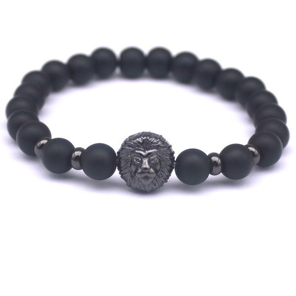 Black Stone Charm Bracelets [Multiple variants]