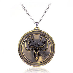 Game of Thrones House Greyjoy Pendant Necklace , necklace - ornacraft