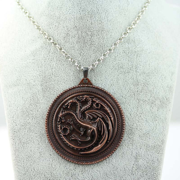 Game of Thrones House Targaryen Pendant Necklace , necklace - ornacraft