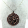 Game of Thrones House Targaryen Pendant Necklace