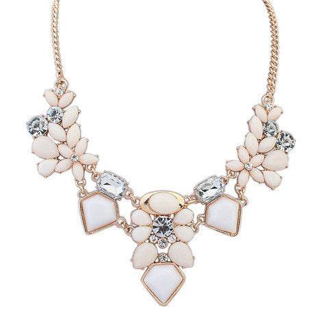 Crystal Geometry Choker Neckalce , necklace - ornacraft