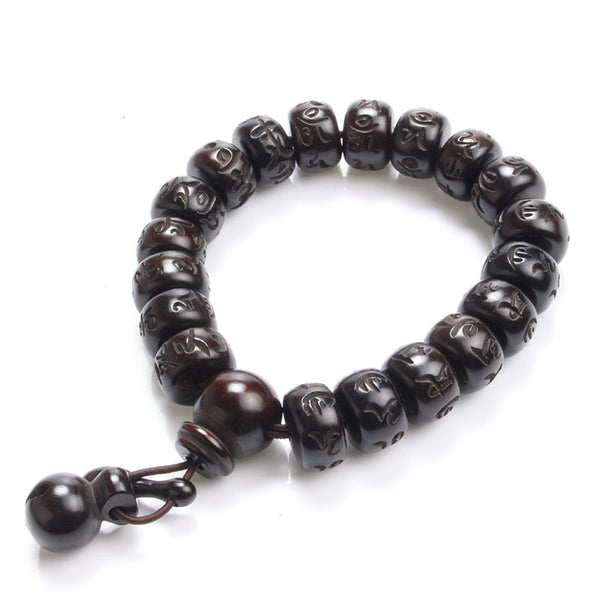 Black Jujube Prayer Bracelet [3 variants] , bracelet - ornacraft