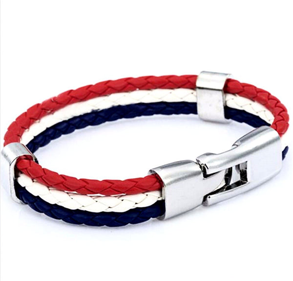 National Pride Bracelet France