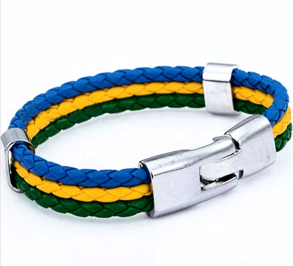 National Pride Bracelet Brazil