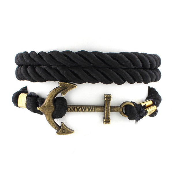 Rope Anchor Bracelet [Multiple Colors]