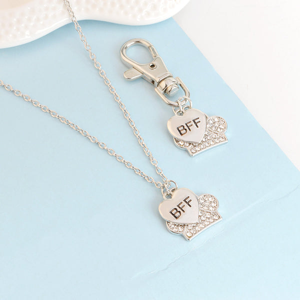Heart & Paw BFF Necklace That You Share With Your Dog , necklace - ornacraft
