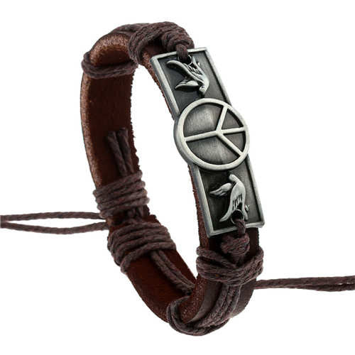 Multiple Stamps Leather Bohemian Bracelet [Multiple Options]