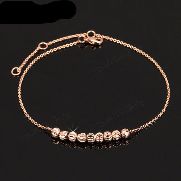Metal Beads Anklets [2 options]