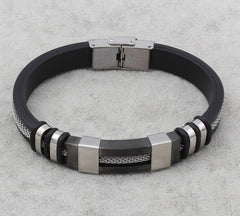 Harmony Vintage High Style Leather Bracelet
