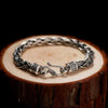 Double Braided Premium Silver Chain Luxury Bracelet