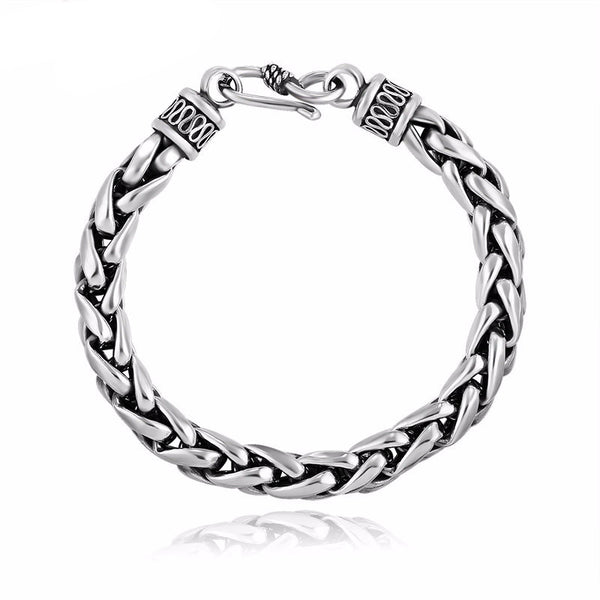Birds Cage Medium Chain premium 925 Silver Luxury Bracelet