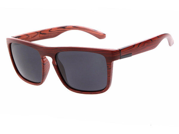 Natural Wooden Designer Square Sunglasses [5 variants]