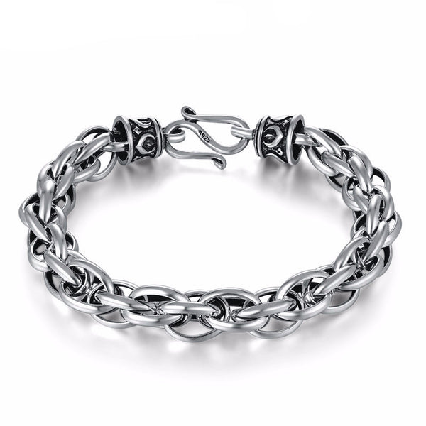 Multus Cable Link PREMIUM Silver Chain Luxury Bracelet