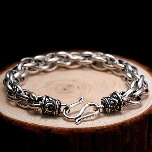 Multus Cable Link PREMIUM Silver Chain Luxury Bracelet , bracelet - ornacraft