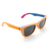 Yellow Skateboard Bamboo Wood Sunglasses [2 Variants]