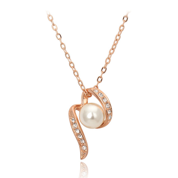 Designer Pearl Pendant Necklace