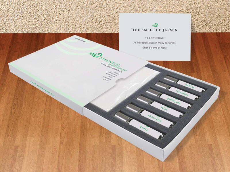 Essential Awakenings Smell & Memory Kit Used As A Tool To Regain The Sense Of Smell