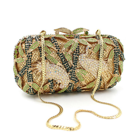 Vintage Women Luxury Crystal Clutch Bag