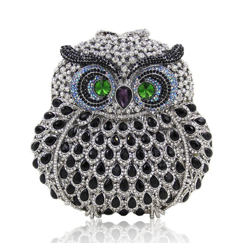 Women Owl Fashion Clutch