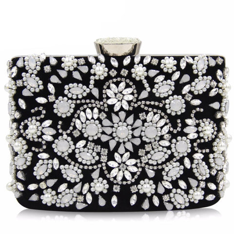 Designer Fashion Beaded Clutch