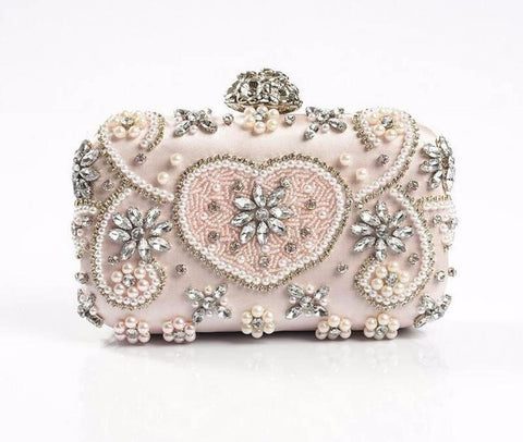 European Luxury Handmade Diamond Clutch