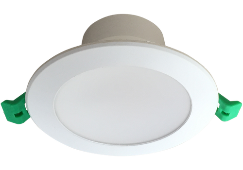 EVO 10W Recessed Dimmable LED Downlight Luminaire available   in  3000k Warm White ,  90mm ceiling cut out