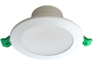 EVO 10W Recessed Dimmable LED Downlight Luminaire available in  5000k Natural White 90mm ceiling cut out