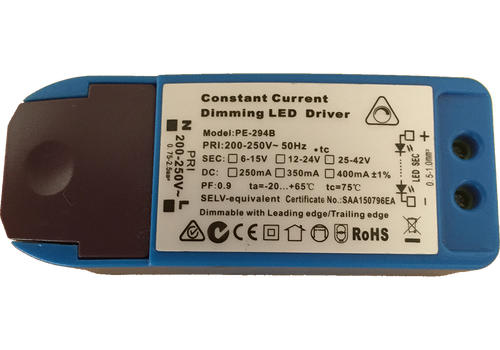 PE-294B - 10W 250mA   Constant Current LED Driver