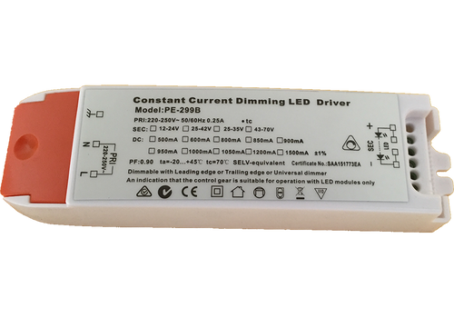 PE-299B 34W 800mA  Constant Current LED Driver