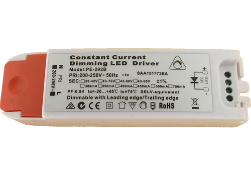 PE-292B - 27W 650mA   Constant Current LED Driver