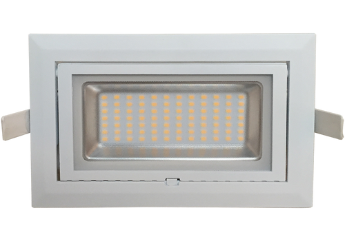 Cascade series  40w Recessed  LED Shoplight Luminaire in 3000k Warm White