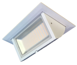 Cascade series  40w Recessed  LED Shoplight Luminaire in 5000k Pure White