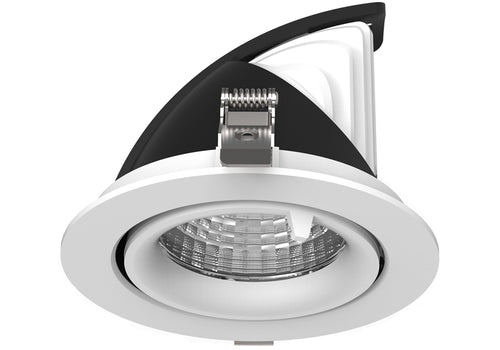 Snoop 15w  Recessed Adjustable and 360 degree rotational LED downlight   90mm ceiling cutout