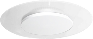 Vaness 24w Round Architectual Wall, Ceiling LED Light with White Dome