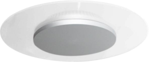 Vaness 24W Round Wall or Ceiling LED Light with Grey Dome